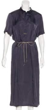 Peserico Twinkle Tie Midi Dress