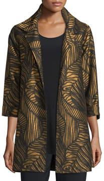 Caroline Rose Waves Jacquard Party Jacket