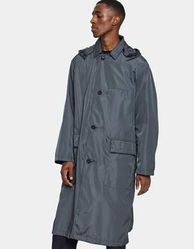 Lemaire Technical Parka in Anthracite
