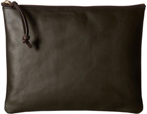 Filson - Large Leather Pouch Handbags