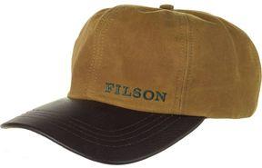 Filson Tin Cloth Leather Cap