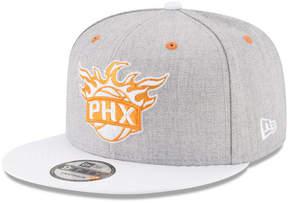 New Era Phoenix Suns White Vize 9FIFTY Snapback Cap