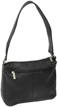 Royce Leather Vaquetta Sleek Shoulder Bag