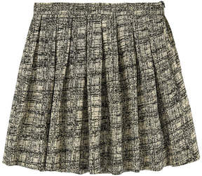 Derhy Kids Jacquard knit skirt with lurex
