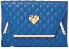 Love Moschino Women's BAG NAPPA PU QUILTED DENIM