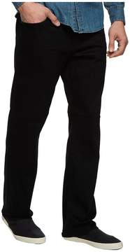 Mavi Jeans Matt Relaxed Straight Leg in Black Brushed Williamsburg Men's Jeans