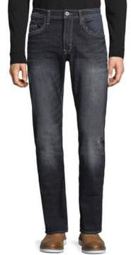 Buffalo David Bitton Slim Straight Distressed Jeans