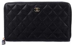 Chanel Caviar Quilted Organizer Wallet