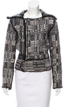 Agnona Zip Up Cashmere Jacket