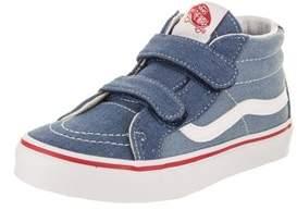 Vans Kids Sk8-mid Reissue V (denim 2-tone) Skate Shoe.