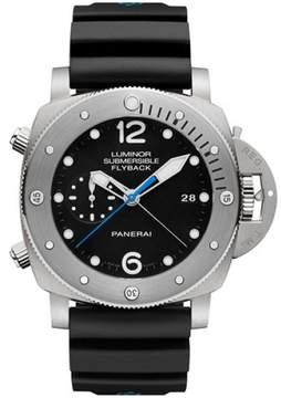 Panerai Luminor PAM00614 Titanium / Rubber Automatic 47mm Mens Watch