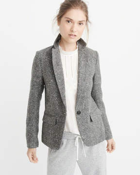 Abercrombie & Fitch Single-Breasted Blazer