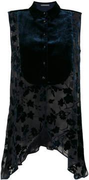 Alberta Ferretti floral blouse