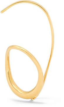 Charlotte Chesnais Caracol Gold Vermeil Ear Cuff