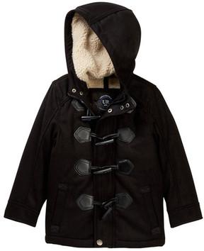 Urban Republic Fleece Lined Toggle Jacket (Toddler Boys)
