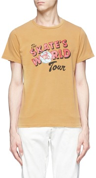 Remi Relief 'The Skate's World Tour' print T-shirt