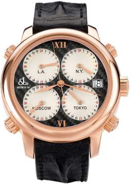 Jacob & co H24 Five Time Zone Automatic H24CFRG