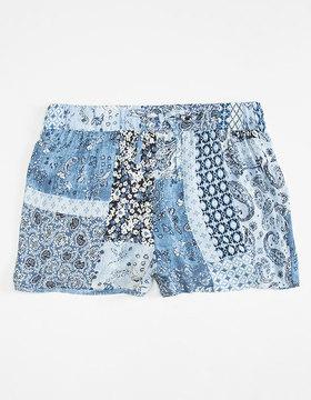 Full Tilt Patchwork Girls Shorts