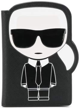 Karl Lagerfeld passport holder
