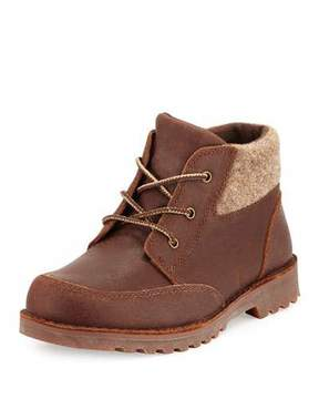 UGG Orin Suede Hiking Boot, Chocolate, Youth
