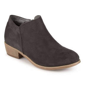 Journee Collection Sun-Wd Womens Bootie Wide