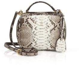 Mark Cross Laura Baby Python Camera Bag