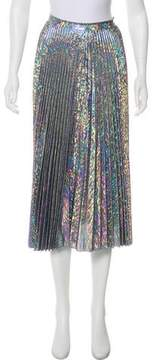 Delfi Collective Midi Metallic Skirt