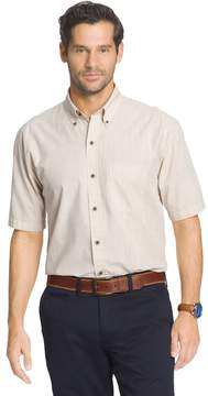 Arrow Big & Tall Solid Button-Down Shirt