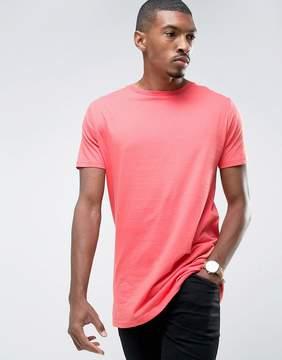 Brave Soul Bright Longline T-Shirt