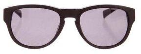 Jil Sander Matte Textured Sunglasses