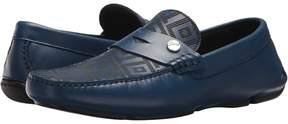 Versace Greca Embossed Driving Loafer Men's Shoes