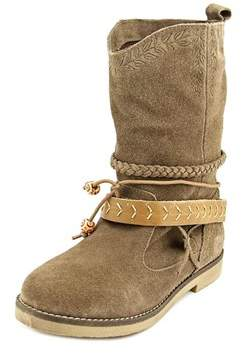 Coolway Arabis Round Toe Suede Mid Calf Boot.