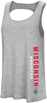 Colosseum Women's Wisconsin Badgers Twisted Back Tank Top