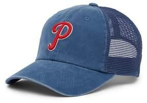 American Needle Philadelphia Phillies Raglan Bones Mesh Baseball Cap