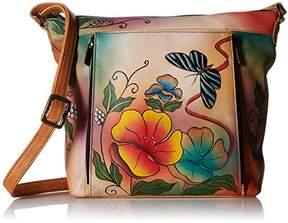 Anuschka Anna by Handpainted Leather Medium Travel Organizer