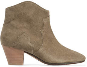 Etoile Isabel Marant Isabel Marant - étoile The Dicker Suede Ankle Boots - Beige