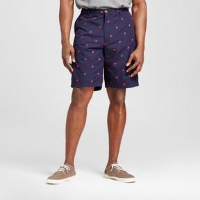 Merona Men's Big & Tall Club Shorts Navy/ Red Crabs Print