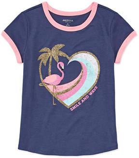 Arizona Short Sleeve Graphic Ringer Tee - Girls' 4-16 & Plus