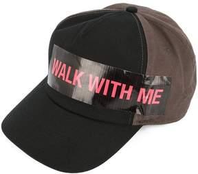 Raf Simons slogan front cap
