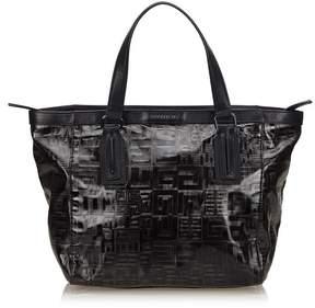 Givenchy Vintage Coated Canvas Handbag