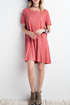 Easel Washed T-Shirt Dress