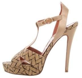 Missoni Woven Platform Sandals