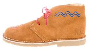 Bobo Choses Boys' Suede Desert Boots w/ Tags