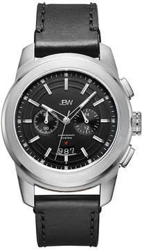 JBW Diamond Mens Black Strap Watch-J6352a