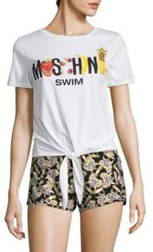 Moschino Tie Graphic Tee