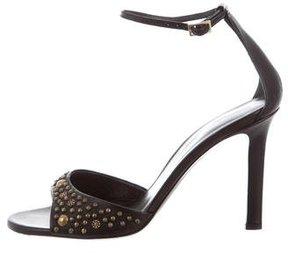 Tamara Mellon Studded Leather Sandals