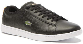 Lacoste Women's Black Carnaby Sneakers