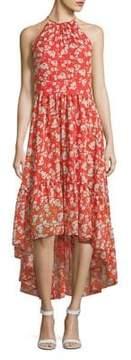 Eliza J Floral Hi-Lo Dress