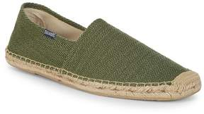 Soludos Men's Original Dali Herringbone Slip-On Espadrilles