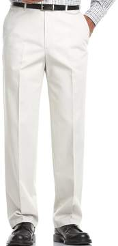 Haggar Big & Tall Work to Weekend® Classic-Fit Flat-Front Expandable Waist Pants